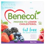 Benecol Cholesterol Lowering Fat Free Yogurt Berries