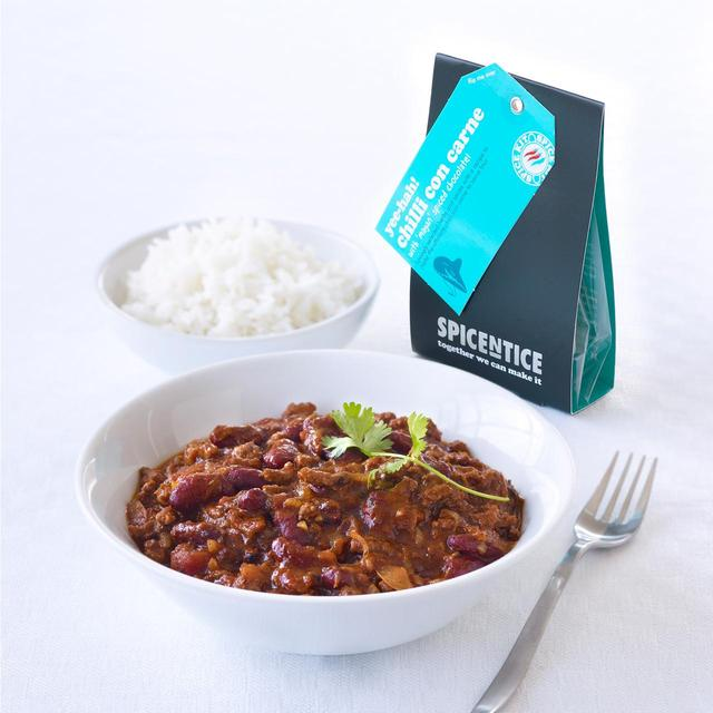 Spicentice chilli con carne with 39 mayan 39 spiced chocolate for Adding chocolate to chilli con carne