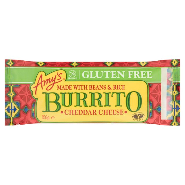 Amy\'s Kitchen Gluten Free Burrito with Bean & Cheese Frozen 170g ...