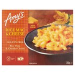 Amy's Kitchen Gluten Free Rice Macaroni Cheese Frozen