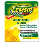 Lemsip Mucus Cough & Cold Lemon Sachets