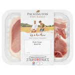 Packington Free Range Pork Chops Rind On