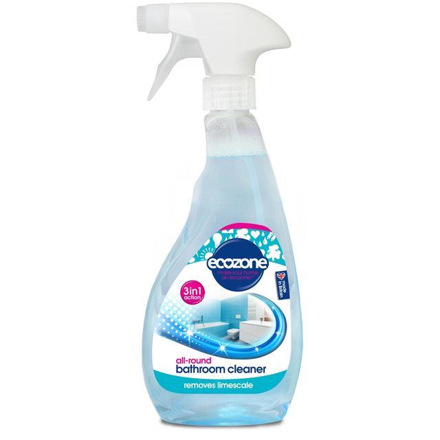 ecozone 3 in 1 bathroom cleaner limescale remover 500ml. Black Bedroom Furniture Sets. Home Design Ideas