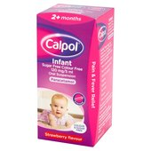 Calpol Sugar & Colour Free Paracetamol Liquid, 2+mths