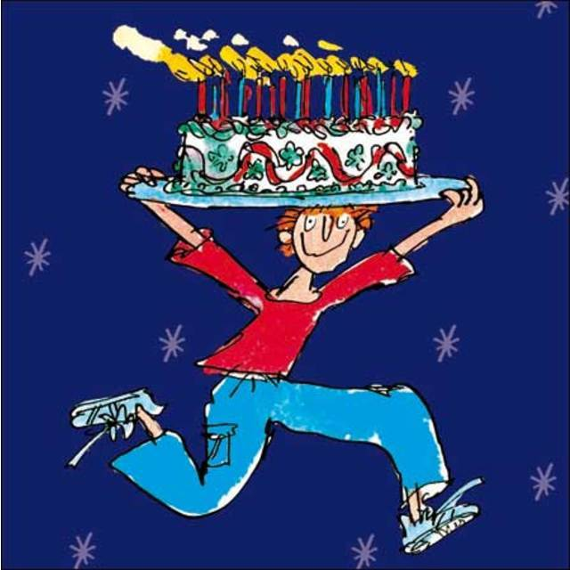 Quentin blake cake man birthday card from ocado quentin blake cake man birthday card altavistaventures Gallery