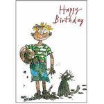 Quentin Blake Muddy Boy Birthday Card