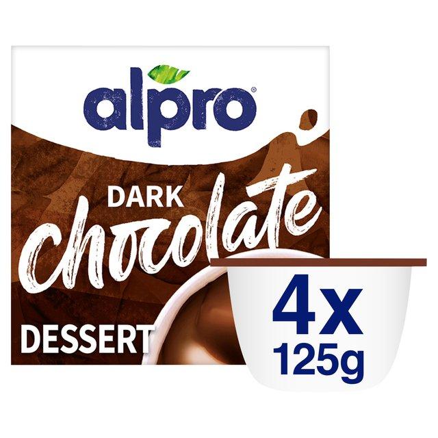 Alpro Dark Chocolate Soya Dessert Ocado