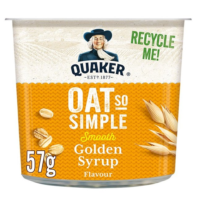 Quaker Oat So Simple Golden Syrup Porridge Pot