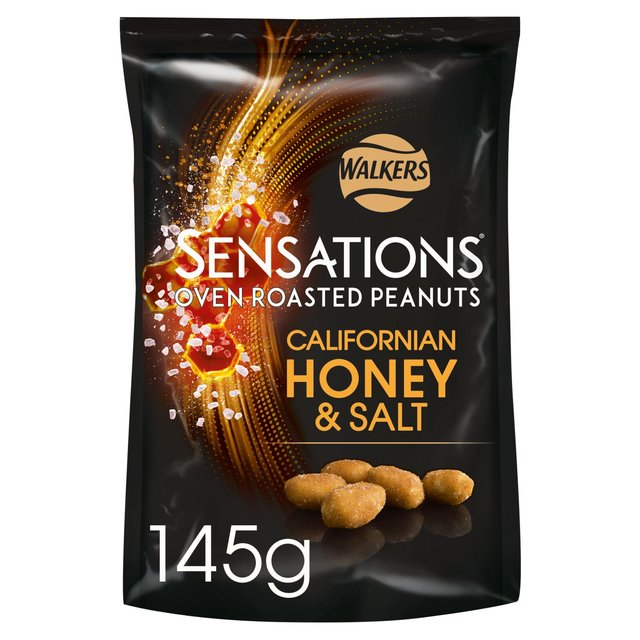 Walkers Sensations Californian Honey & Salt Peanuts 145g from Ocado