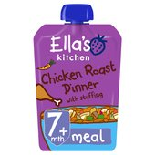 Ella's Kitchen Cheery Chicken Roast Dinner