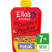 Ella's Kitchen Oodles of Fun Chicken & Noodles with Red Peppers