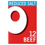 Oxo 12 Reduced Salt Beef Stock Cubes