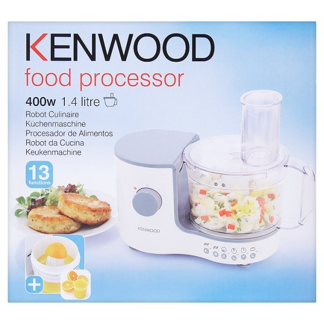 Kenwood FP120 Compact Food Processor 1.4 L White
