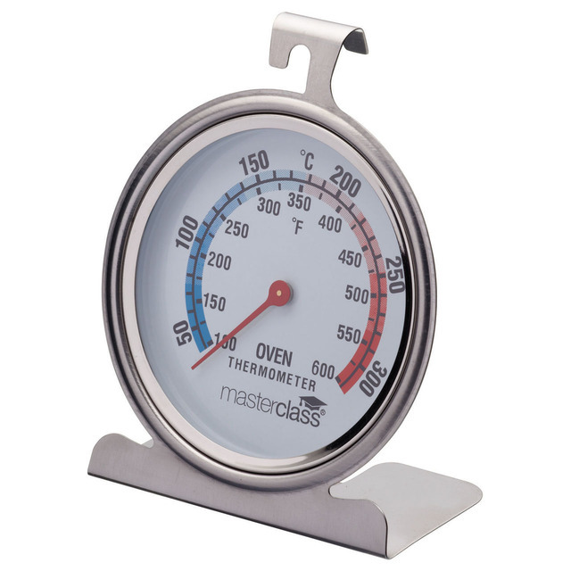 kitchen craft stainless steel oven thermometer from ocado