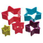 Colourworks Star Cookie Cutter Set