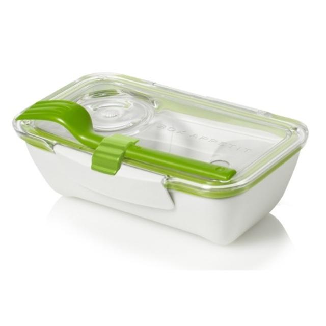 black blum bento lunch box 19cm green from ocado. Black Bedroom Furniture Sets. Home Design Ideas