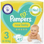 Pampers Premium Protection Size 3, 47 Nappies, Essential Pack