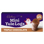 Cadbury Christmas Mini Chocolate Yule Logs