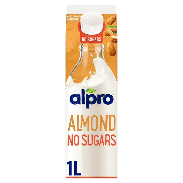 Alpro Fresh Unsweetened Almond Milk Alternative 1L