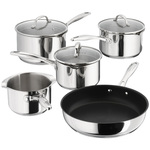 Stellar 7000 5 Piece Stainless Steel Pan Set