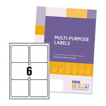 OfficeTeam Multipurpose Labels 99x93mm