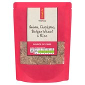 Waitrose Love Life Quinoa, Chickpeas, Bulgar Wheat & Rice