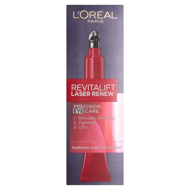 L'Oreal Revitalift Laser Renew Precision Eye Cream 15ml from Ocado