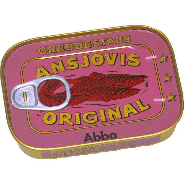 Grebbestad's Anchovy-Style Sprats Fillets 125g From Ocado