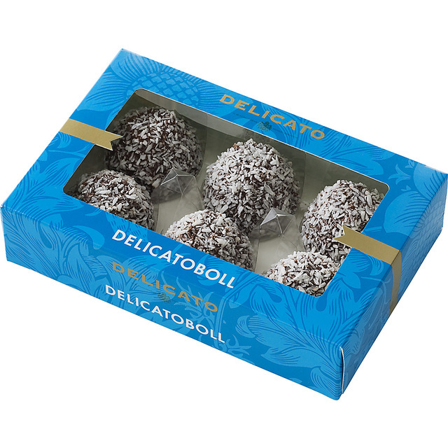 delicato chokladboll kcal