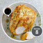Heston from Waitrose Turkey Crown with Brining Kit, Herb Butter