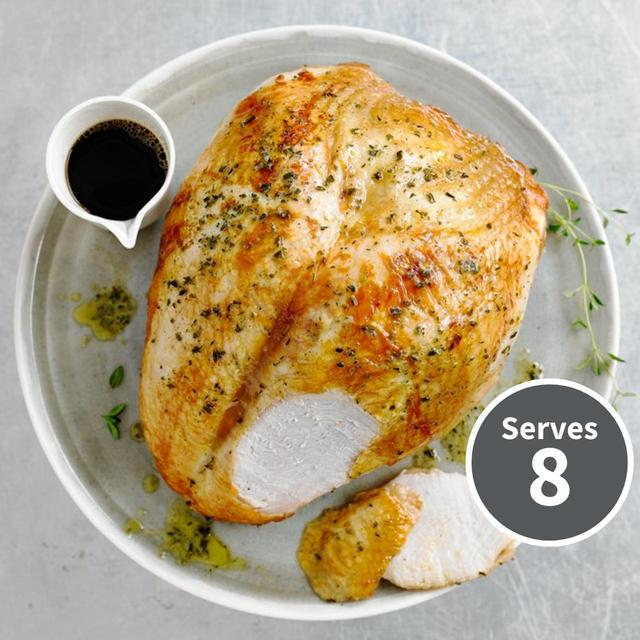 Heston from Waitrose Turkey Crown with Brining Kit & Herb Butter