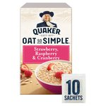 Quaker Oat So Simple Strawberry, Raspberry & Cranberry