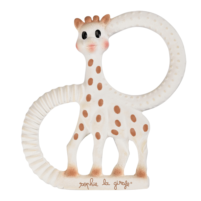 Sophie The Giraffe So Pure Teething Ring Soft Version White Baby