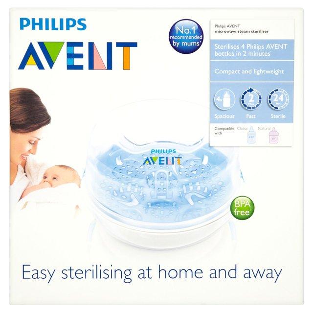Philips AVENT SCF281//02 Microwave Steam Steriliser Blue