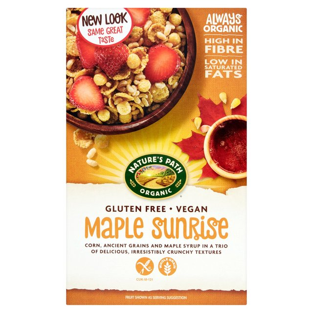 Natures Path Organic Gluten Free Maple Sunrise 332g From Ocado