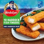 Birds Eye 10 Haddock Fish Fingers Frozen