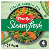 Birds Eye Steamfresh 4 Classic Garden Mix Frozen