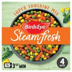 Birds Eye Steamfresh 4 Super Sunshine Vegetable Mix Frozen