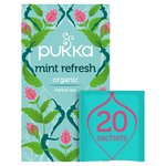 Pukka Organic Mint Refresh Tea Bags