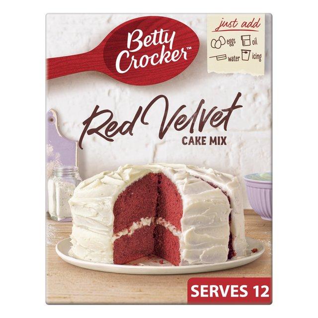 Betty Crocker Red Velvet Cake Mix Review