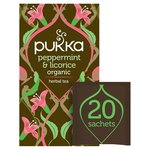 Pukka Peppermint & Licorice Tea Bags