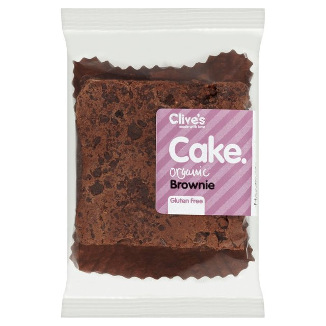 Clive's Gluten Free Organic Chocolate Brownie
