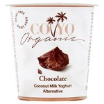 CO YO Organic Chocolate Dairy Free Coconut Milk Yogurt Alternative