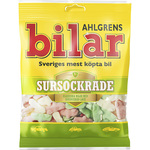 Ahlgrens Bilar Sursockrade Sour Soft Chewy Marshmallow Cars