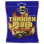 Fazer Tyrkisk Peber Original Hot Salmiak & Pepper Candy