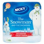 Nicky Christmas Snowman Toilet Tissue