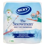 Nicky Christmas Snowman Kitchen Towel