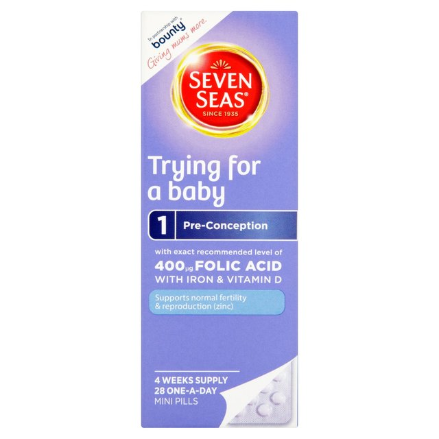 Seven Seas Pregnancy Trying for a Baby Pills