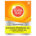 Seven Seas Evening Primrose Oil & Starflower Oil 1000mg Capsules 30s