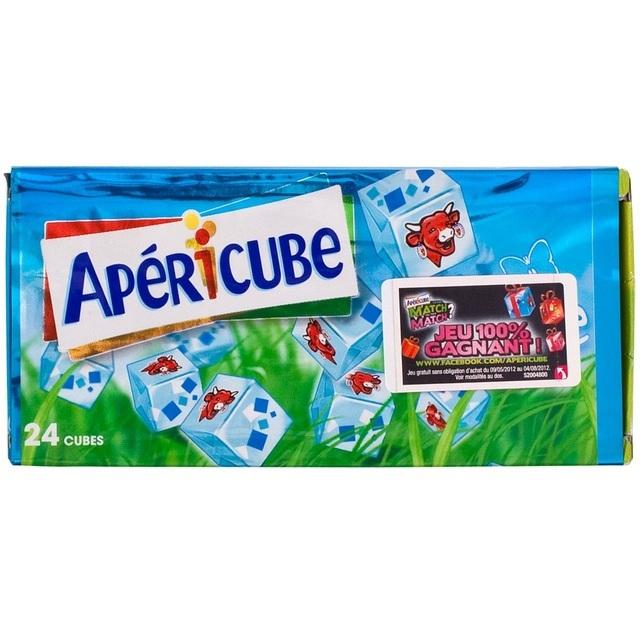Apericube Cream Cheese Cubes 125g From Ocado